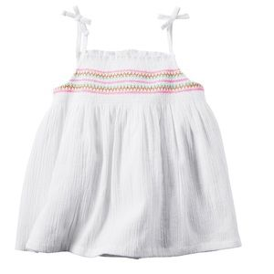 Carter's smocked tank top 2 for $20